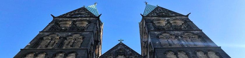 Die beiden Türme des St. Petri Doms