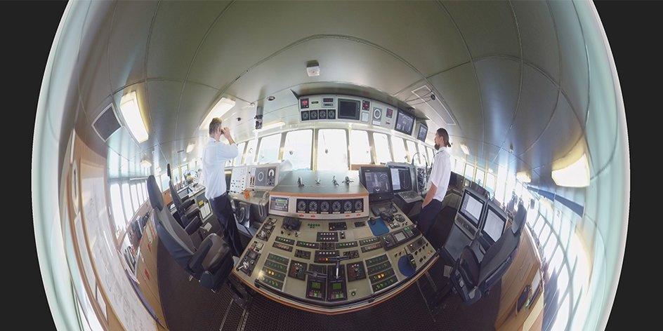 360° POLARSTERN – Eine virtuelle Forschungsexpedition