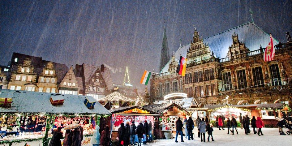 Bremen Weihnachtsmarkt.Weihnachtsmarkt In Bremen 25 November Bis 23 Dezember 2019
