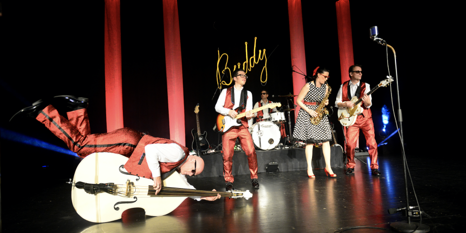 BUDDY in concert - die Rock'n'Roll-Show