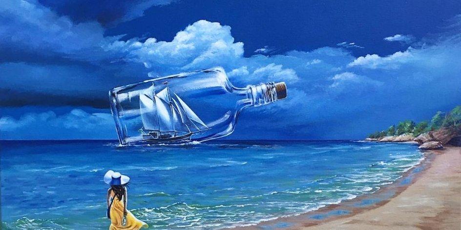 Kunstausstellung in der CityGalerie: Maritim - Von der Weser bis an die Tiefen des Ozeans