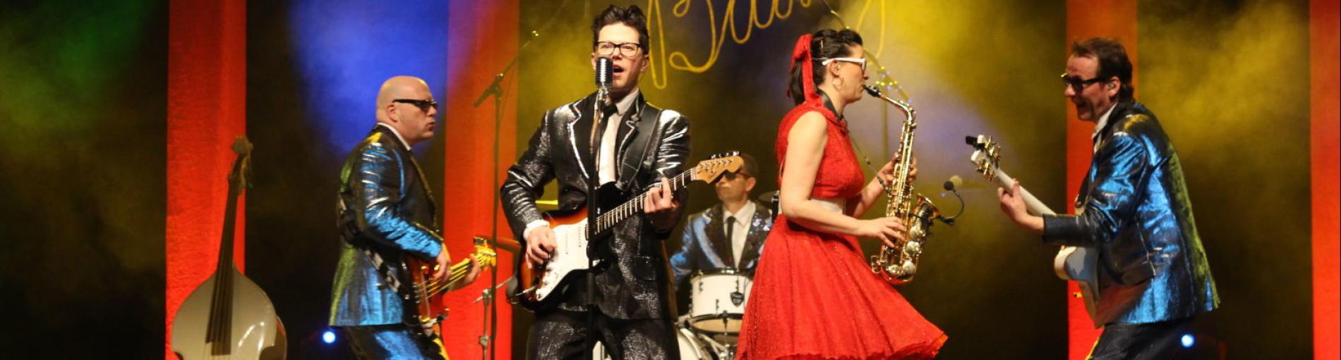 Buddy in concert – die Rock'n'Roll – Show