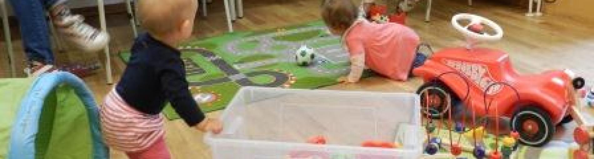 Eltern-Kind-Café - Knistertücher selber nähen