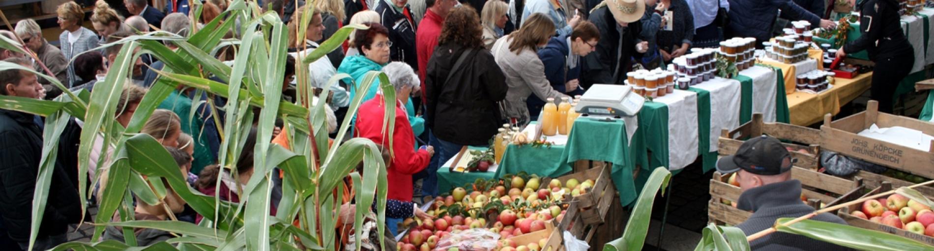 Herbstmarkt - Herbstlich bunte Atmosphäre