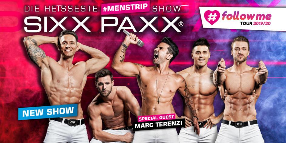SIXX PAXX – #followme Tour 2019/20