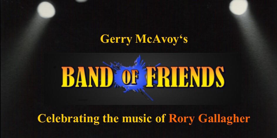 GERRY MCAVOY´S BAND OF FRIENDS