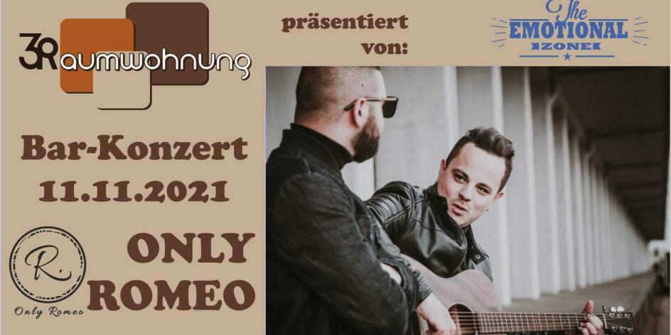 Bar Konzerte mit Only Romeo