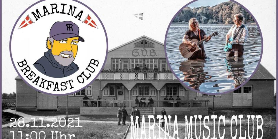 Marina Music Club mit Margins of April