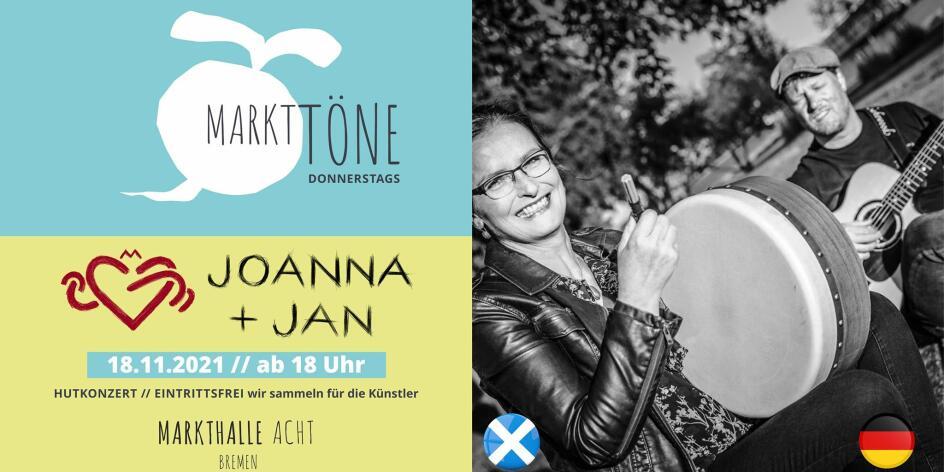 Markttöne mit Joanna & Jan