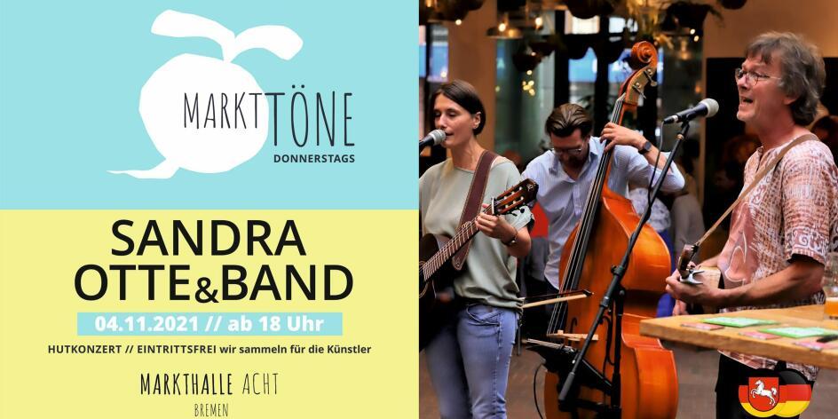 Markttöne mit Sandra Otte & Band