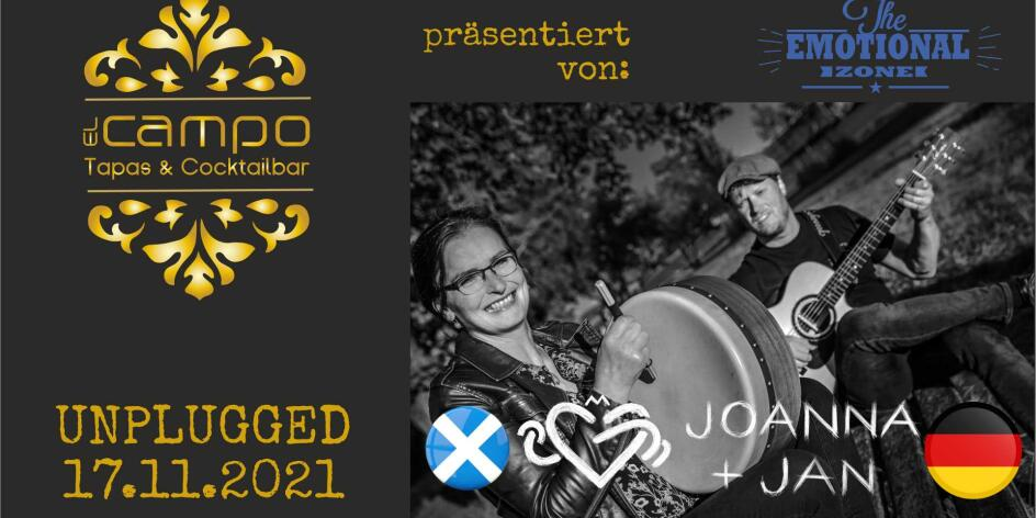 Joanna Scott Douglas & Jan Jedding zu el Campo unplugged