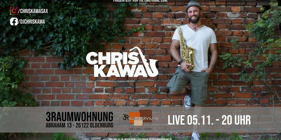 Bar Konzerte mit Chris Kawa