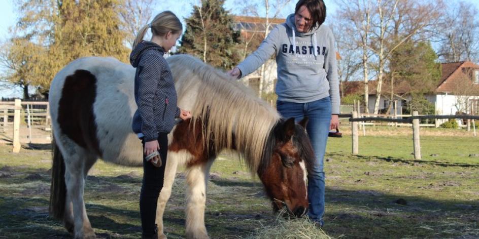 Achtsam in Beziehung sein - mit Pferden und in der Natur Verbundenheit erleben
