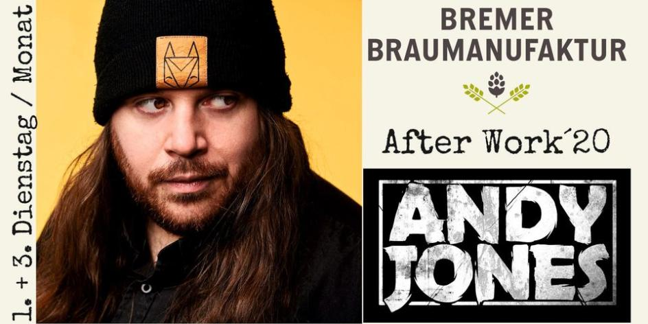 Andy Jones zum after work Konzert