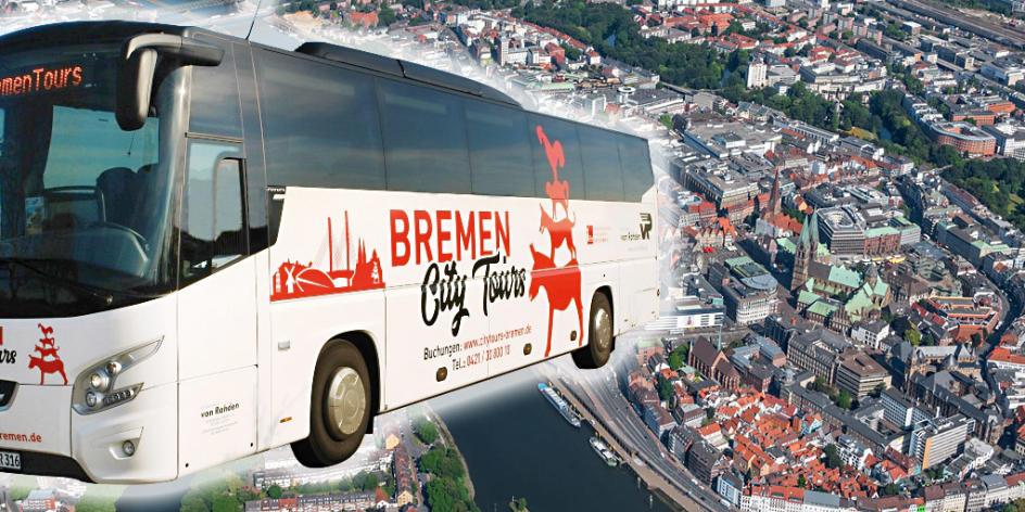 City Tour Bremen - tägliche Stadtrundfahrt