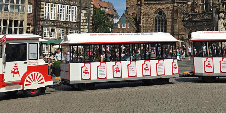 Stadtmusikanten-Express - Tour Innenstadt