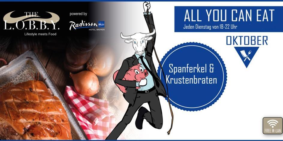 All You Can Eat - Spanferkel und Spießbraten