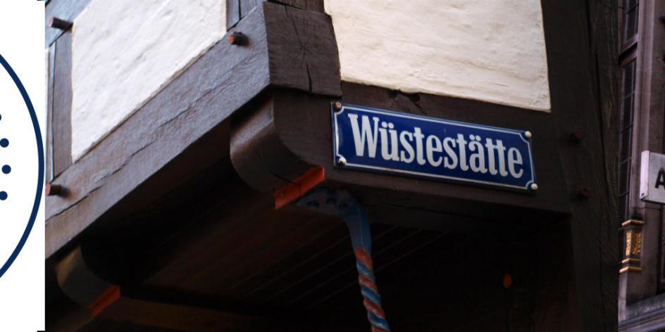Wüstestätte, Schlachte, Herrlichkeit – die Bremer Straßennamen erzählen