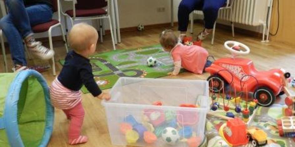 Eltern-Kind-Café - Babys Body selbst bedrucken