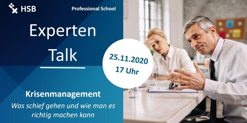 EXPERTEN-Talk Krisenmanagement
