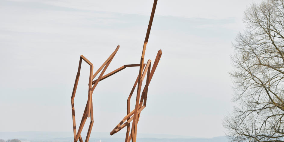 Radtour: Stahltour zu den Skulpturen von Robert Schad in Gröpelingen