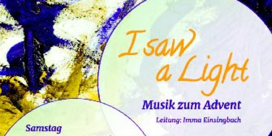 A Cappella Konzert Vox Animae: I SAW A LIGHT!