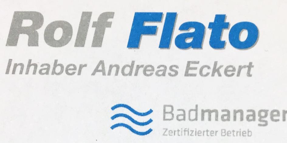Flato, Rolf; Inhaber Andreas Eckert; Sanitär u.- Heizung
