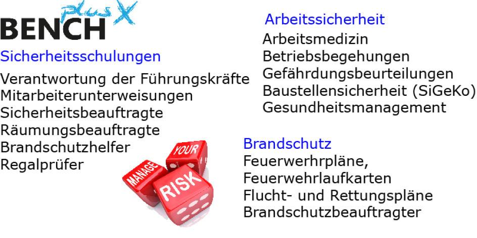 BENCHplusX-Die Arbeitsschutz-Companie