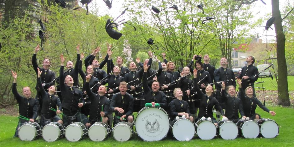 Crest of Gordon - City of Bremen Pipes and Drums