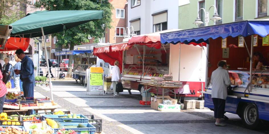 Wochenmarkt Blumenthal