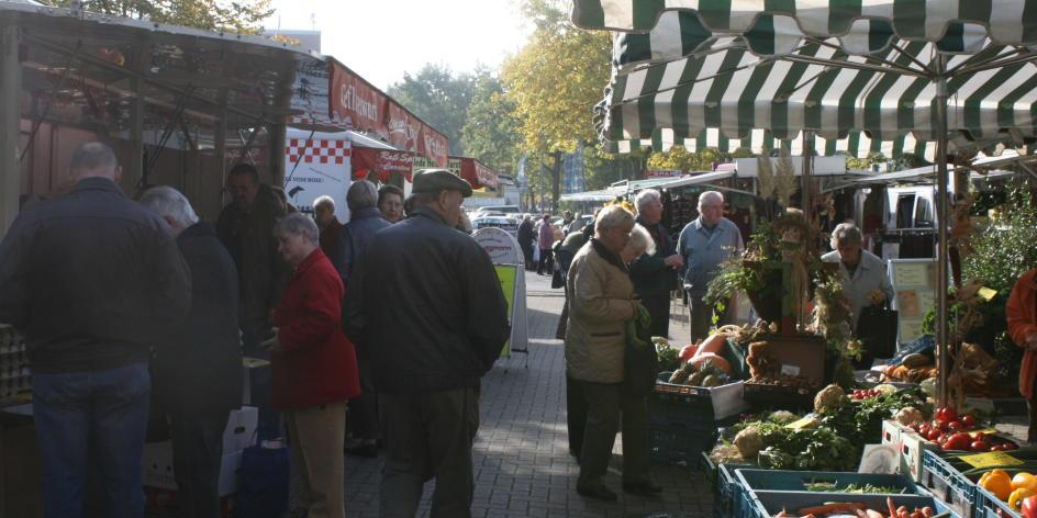 Wochenmarkt Marßel