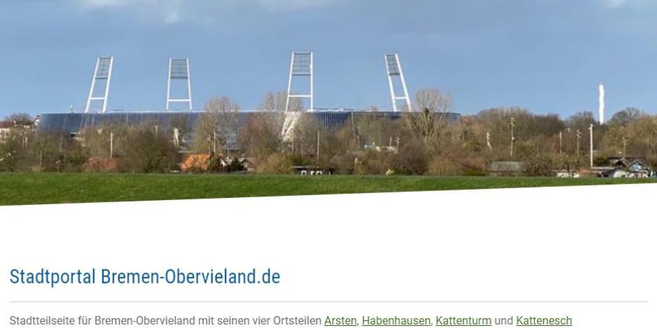 Bremen-Obervieland.de Stadtteilseite