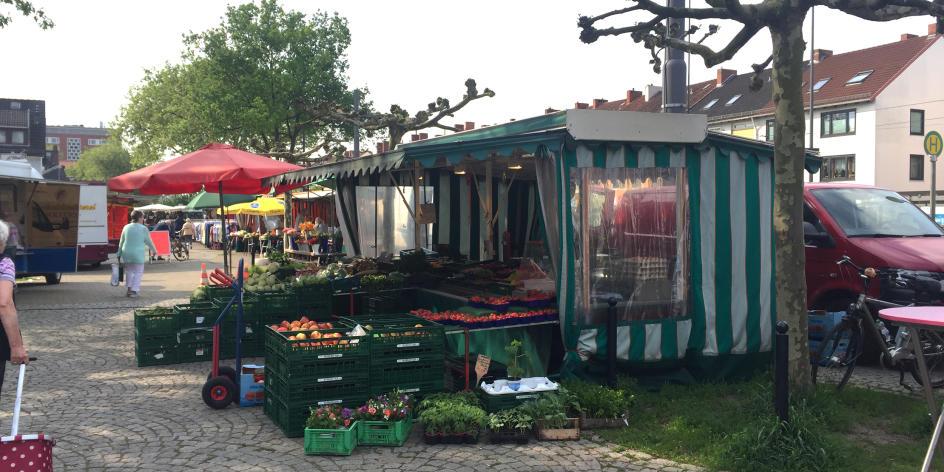 Wochenmarkt Walle