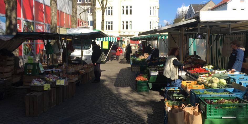 Wochenmarkt Delmestraße
