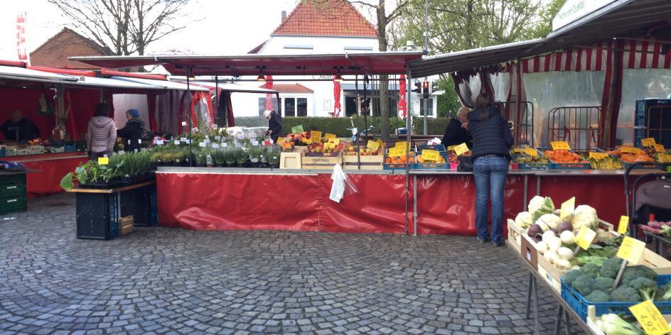 Wochenmarkt Borgfeld