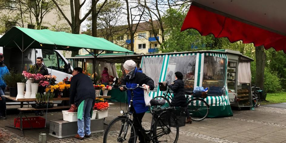 Wochenmarkt Horn-Lehe