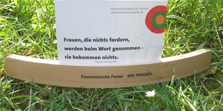 Feministische Partei DIE FRAUEN, LMV Bremen, c/o N. Thata