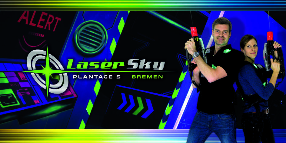 LaserSky, Lasertag-Arena