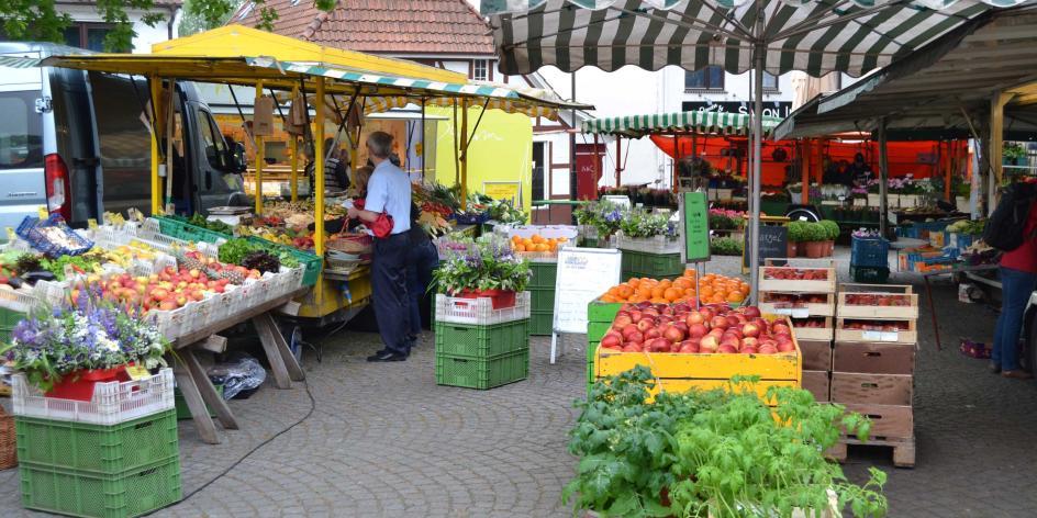 Wochenmarkt Lesum