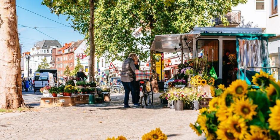 ÖkoMarkt auf dem Ziegenmarkt