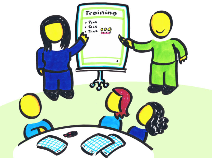 Angebot: Flipchart-Trainings