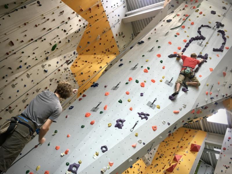 Angebot: Klettern erlernen!