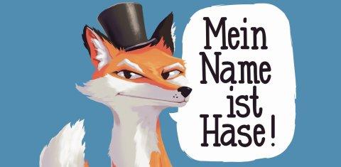 Ein Fuchs mit Hut
