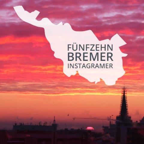 15 Bremer Instagramer ; Silhouette von Bremen