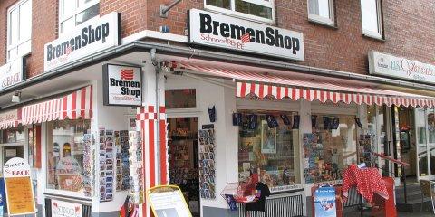 Bremen-Shop Schnoortreppe