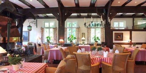 Innenraum des Restaurants Jürgenshof.