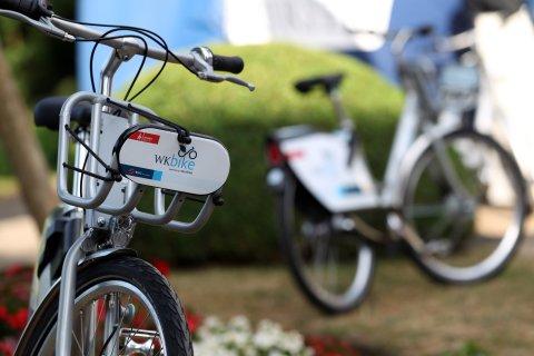 Das neue WK-Bike wurde auf dem Sommerfest präsentiert.