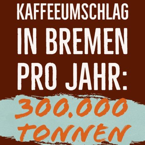 Kaffeefakt: Jährlich werden in Bremen 200.000 Rohkaffee umgeschlagen
