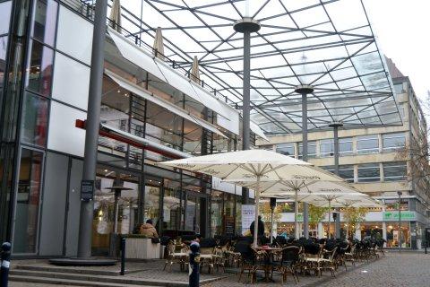 Café Alex Außenansicht