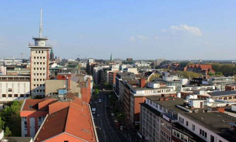 Blick vom Bamberger Haus über Bremen